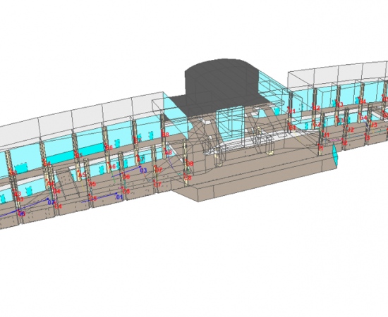 An Acoustic Model of Gateway shopping centre to assist in the design of evacuation centre